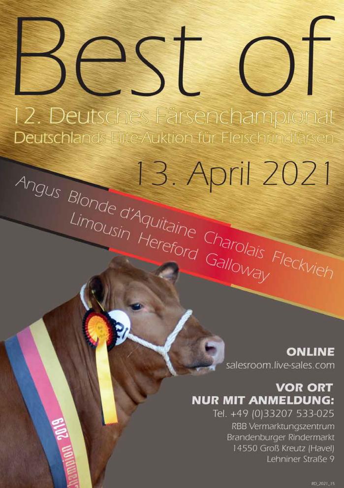 Best of - Flyer